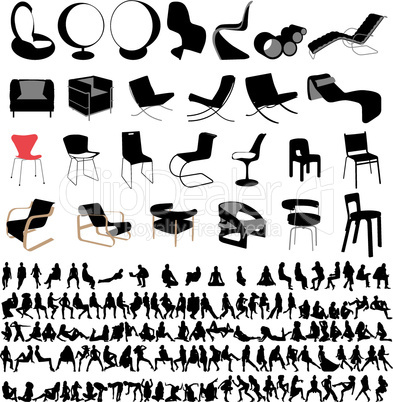 the great furniture and sitting people collection