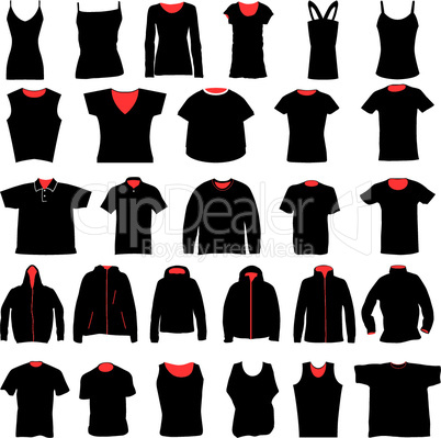 shirts design set
