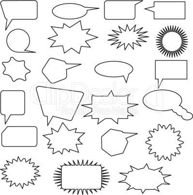 comic design elements