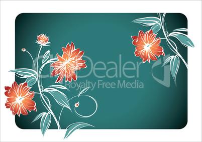 Bild mit Blumenmotiv