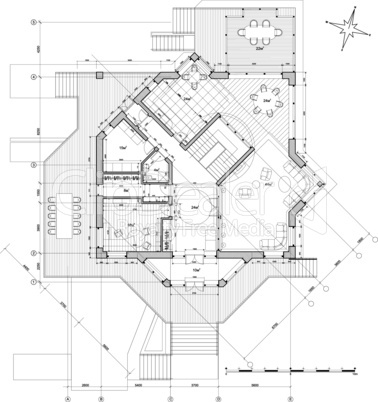 architecture house plan