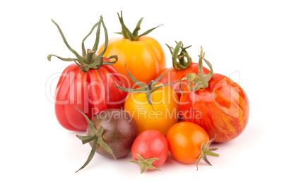 Variation of juicy Tomatoes