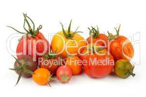 Group Of Exotic Tomatoes