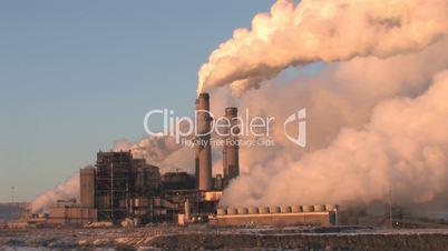 Power Plant Smoke Pollution fast
