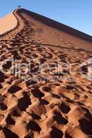 Die roten Dünen des Sossusvlei