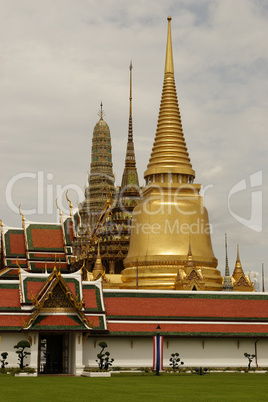 Thailand,Bangkok,Königstempel