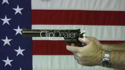 Revolver aim 357 Magnum