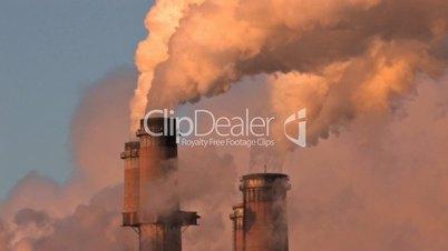 Smoke Stacks pollution