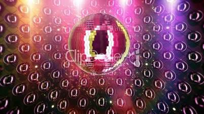 Discoball/nightclub background