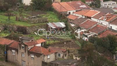 Dächer in Porto, Portugal