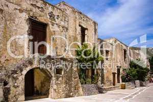 Ancient greek monastery