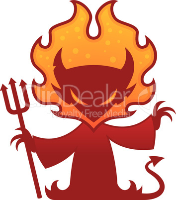 Devil Cartoon Character
