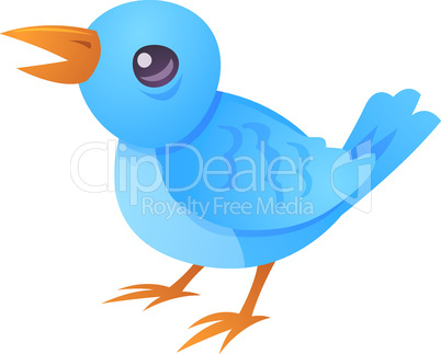 Blue Bird Tweet