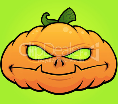 Pumpkin Monster Jack O Lantern