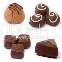 Milk chocolate candies