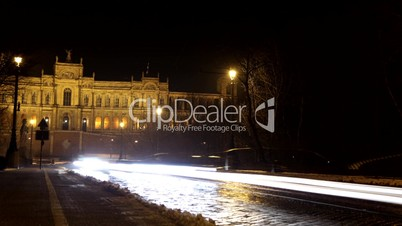 Zeitraffer München Nacht