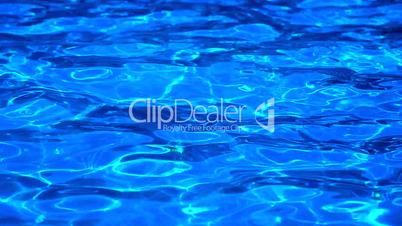 Blue Water effect from pool