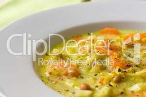 Afrikanische Gemüse Suppe - African Vegetables Soup