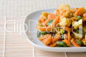 Afrikanisches Gemüsegericht - African Vegetable Dish