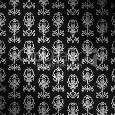 1  373680 antike tapete mit wappenlilie - Antike Tapete