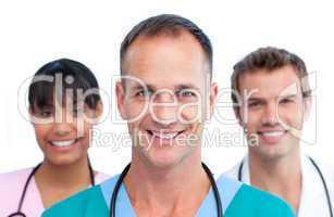Presentation of an international medical team