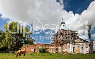 Restoration of old church
