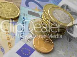 Euro Zahlungsmittel