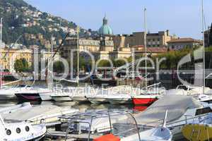 Italy, Como: the commercial harbour