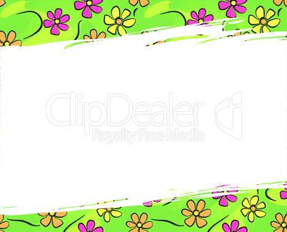 Blumen Hintergrund - Flower background