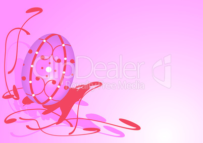 Osterei in pink - Pink Easter egg