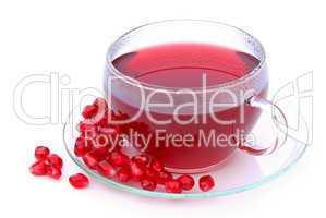 Tee Granatapfel - tea pomegranate 05