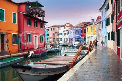 Italy, Venice: Burano Island