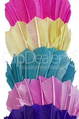 Bunte Federbälle - Colored badmintons