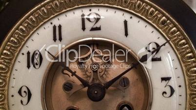 Antique clock face working