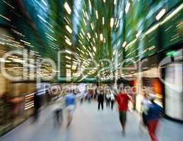 shopping makes me dizzy