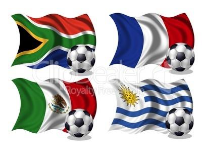 soccer-fussball wm nationen gruppe A