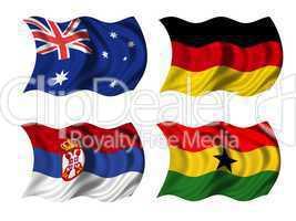 Fussball WM Gruppe D