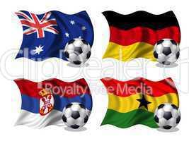 Soccer-Fussball WM Nationen Gruppe D
