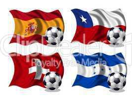 Soccer-Fussball WM Nationen Gruppe H