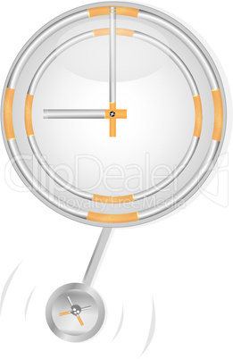 Clock and cigarettes