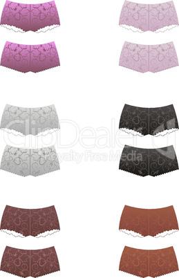 Set female pants
