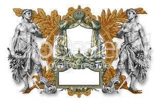 Old Victorian Frame