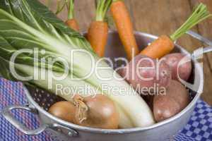 Gemüsesieb