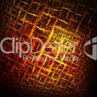 Hot checkered abstract background