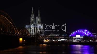 Köln, Kölner Dom, Zeitraffer