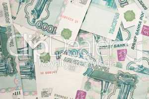 Currencies of the world - russian rouble