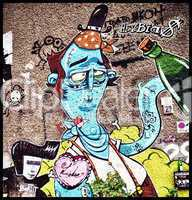 grafitti in berlin - liebe