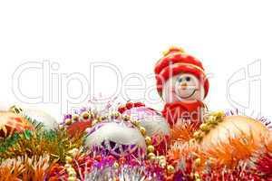 Christmas - Funny white snowman