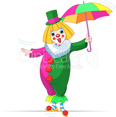 Rope-walker Clown