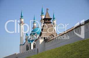Kremlin wall in Kazan